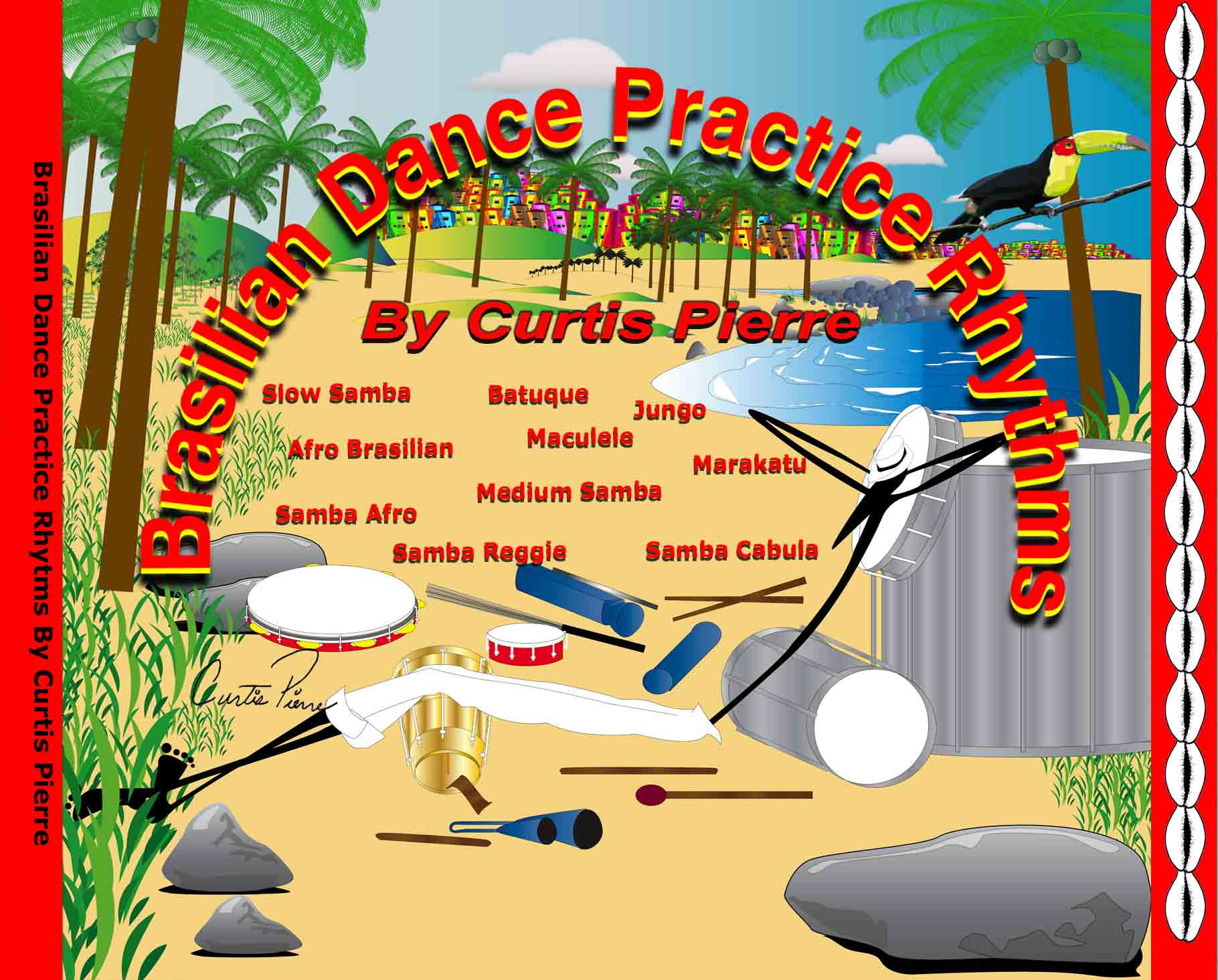 BRAZILIAN DANCE PRACTICE RHYTHMS CD
